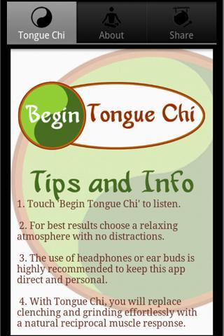 Tongue Chi TMJ Relief- screenshot