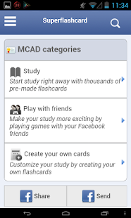 MCAD Flashcards - screenshot thumbnail
