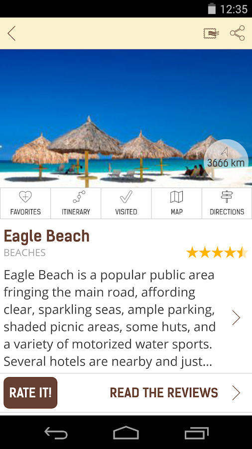 Aruba Travel Guide - screenshot