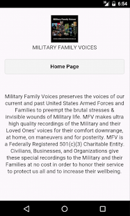 Military Family Voices Mobile- screenshot thumbnail