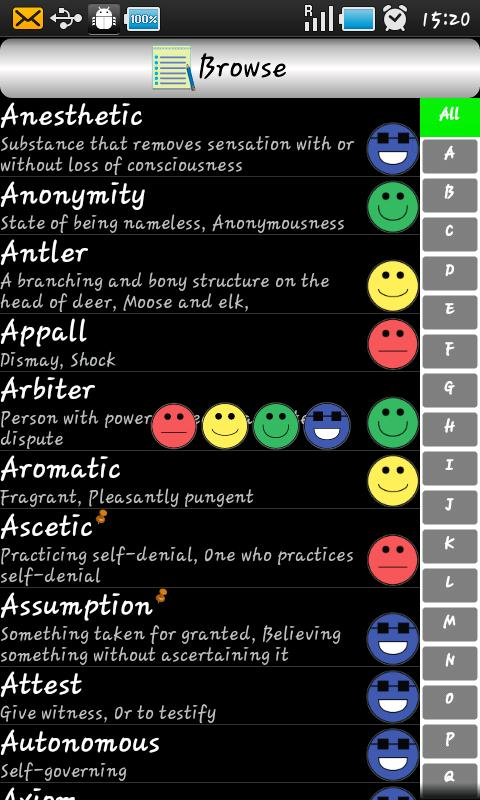 sTutor - GRE Vocab Pro (Key) - screenshot