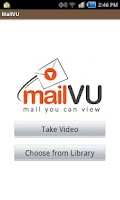 Screenshot of mailVU Video Sharing