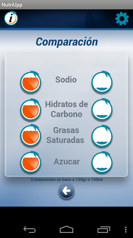 Nutriupp- screenshot