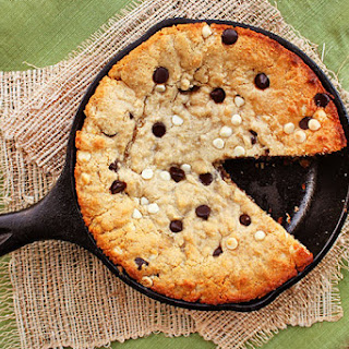 Skillet Chocolate Chip Cookie-Cake