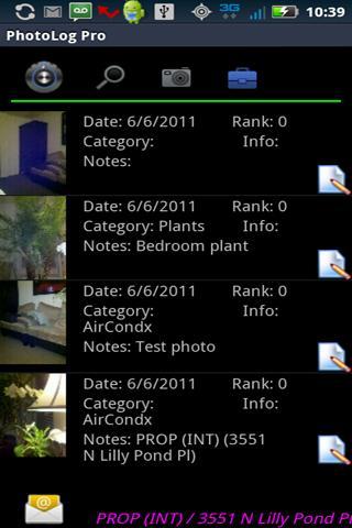 PhotoLog Pro- screenshot