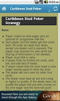 Screenshot of Casino Game Strategy and More