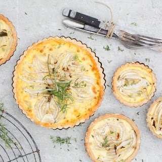 Fennel and Coconut Tart.