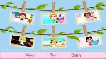 Screenshot of Lil Paper Dolls