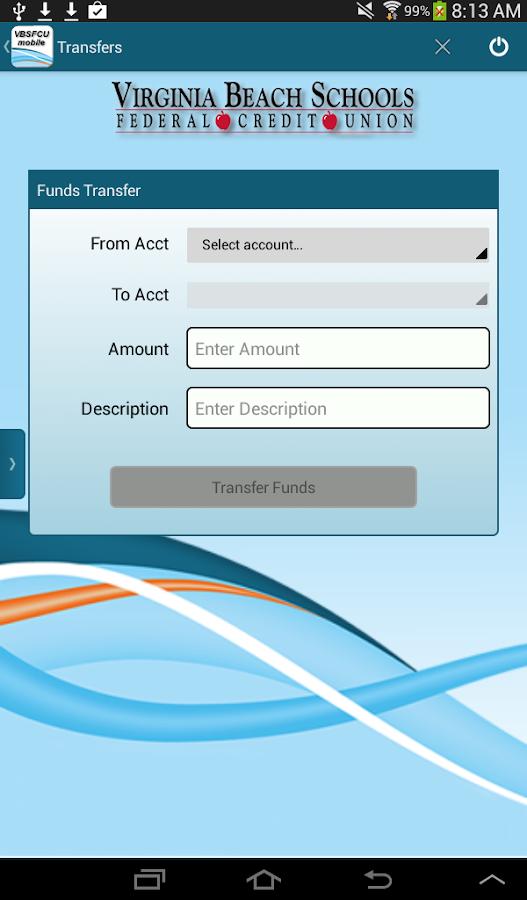 Virginia Beach Schools Federal Credit Union Online Banking
