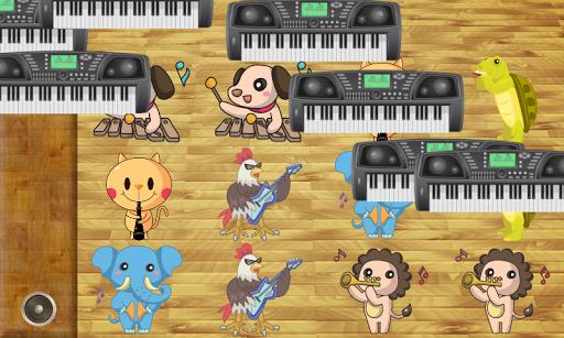 玩免費教育APP|下載音樂遊戲的孩子 樂器 ! app不用錢|硬是要APP