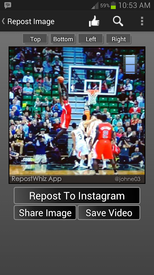 RepostWhiz Repost Video Photos - screenshot