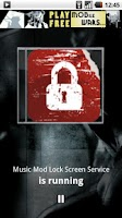 Screenshot of Music Mod Lock Screen