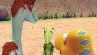 Buddy Explores the Tyrannosaurs/Rainy Day Fight