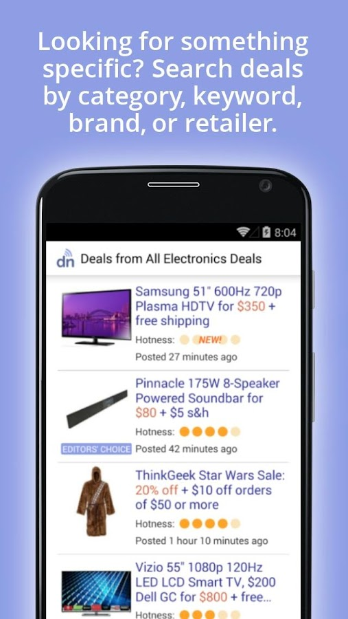 DealNews - Today's Best Deals- screenshot