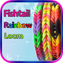 Fishtail Rainbow Loom Bracelet icon