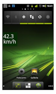 Speedometer for navigator free - screenshot thumbnail