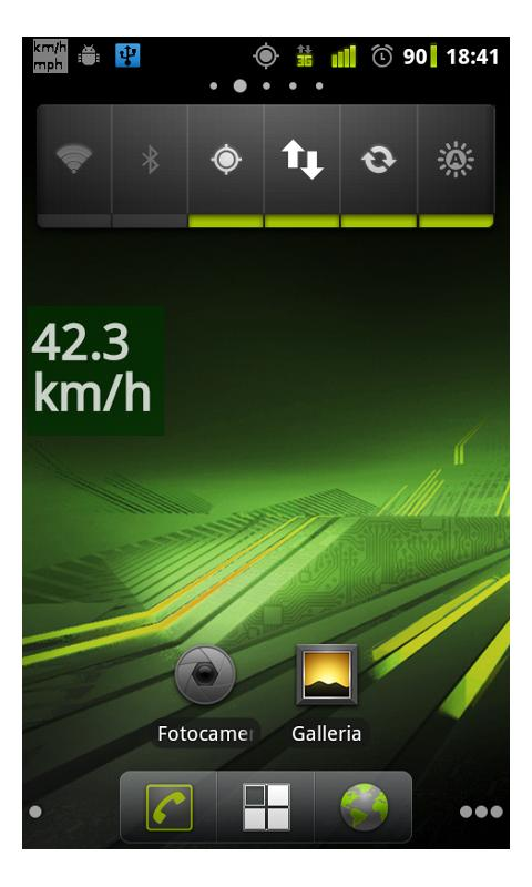 Speedometer for navigator free - screenshot