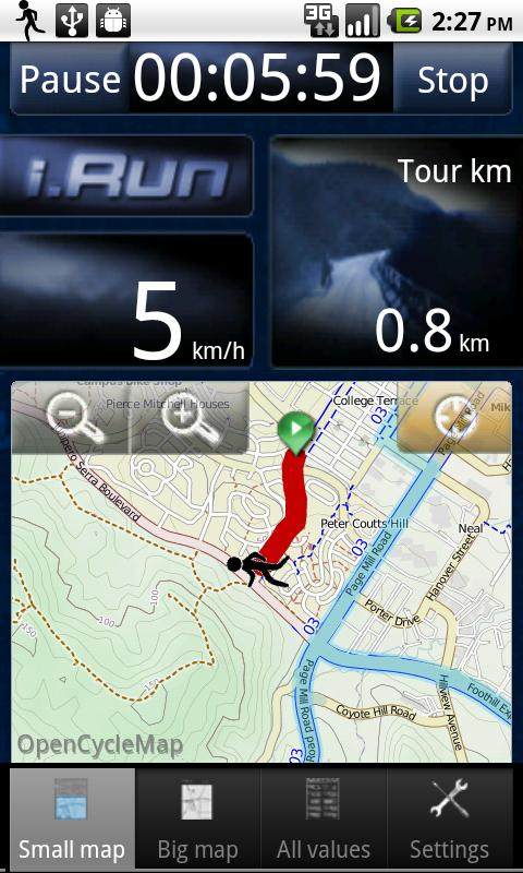i.Run - GPS Running Coach - screenshot