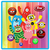 Yo Gabba Bubble Shooter