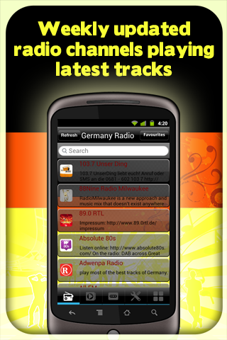 Germany Radio - With Recording - screenshot