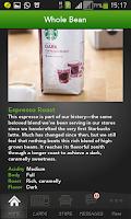 Screenshot of Starbucks Malaysia