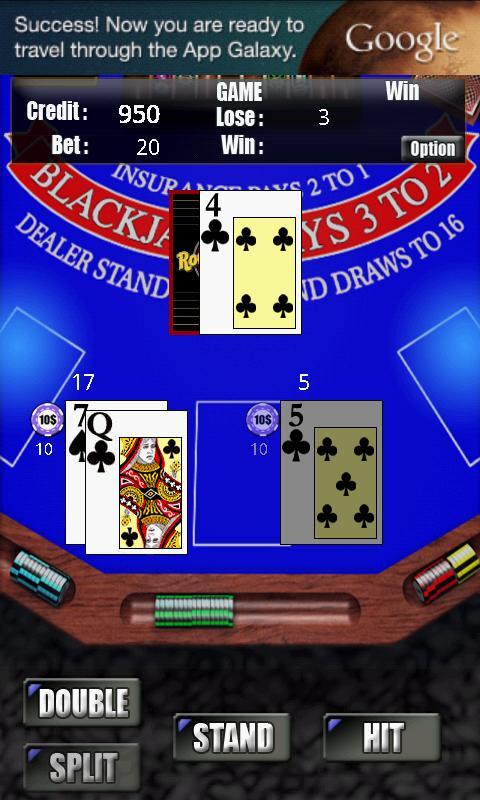 RVG BlackJack Free- screenshot