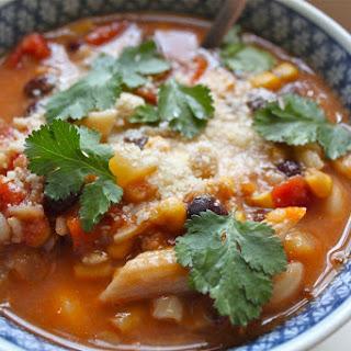 Easy Homemade Vegetarian Vegetable Soup.