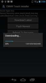 CWMR Touch Installer Screenshot 2