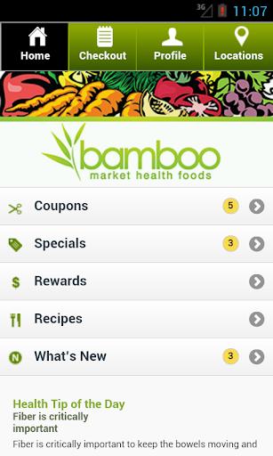 Bamboo Market App