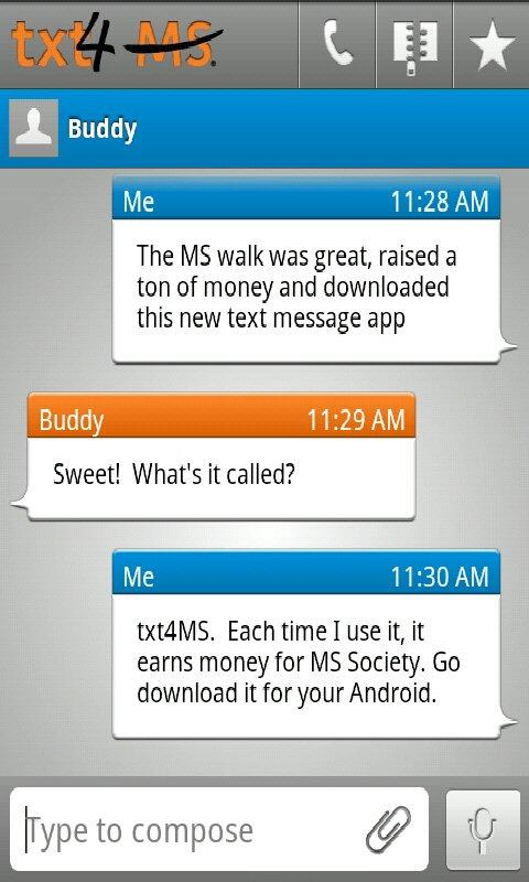 txt4 MS: Text for a Cure - screenshot