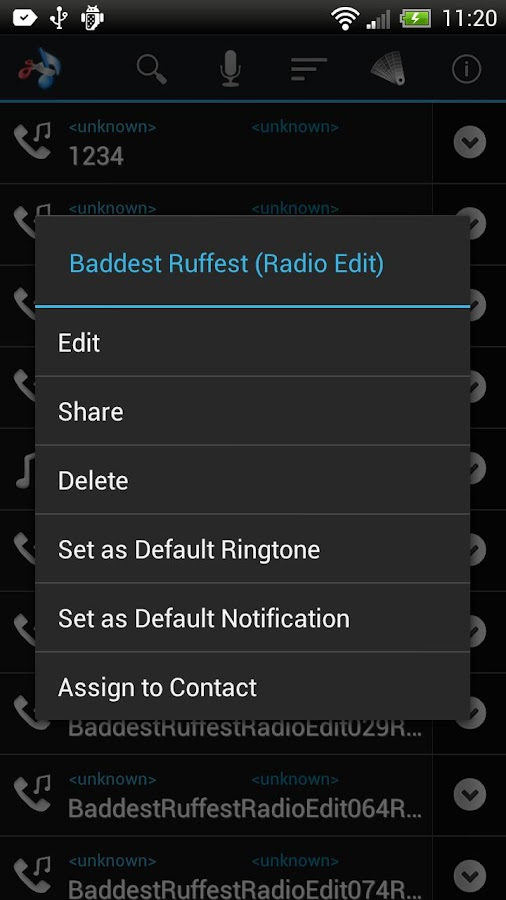 Mp3 Ringtone Factory- screenshot
