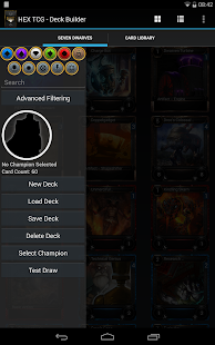 Hex TCG - Deck Builder- screenshot thumbnail