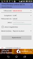 Screenshot of Elmű/Émász online