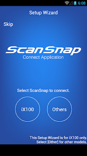 ScanSnap Connect Application. - screenshot thumbnail