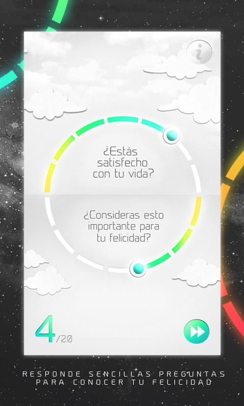 HappyUp: captura de pantalla