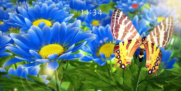 My Flower 3D Live wallpaper – Miniaturansicht des Screenshots