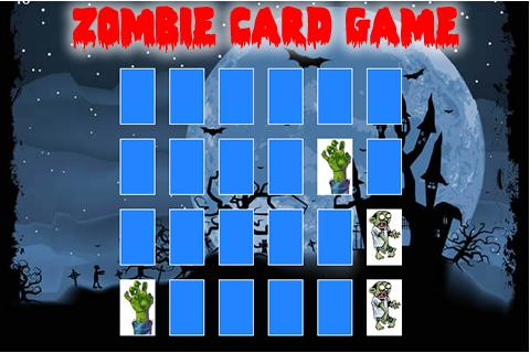 Zombie Card Matching Game Lite