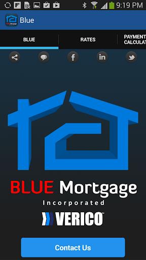 Blue Mortgage Calculator