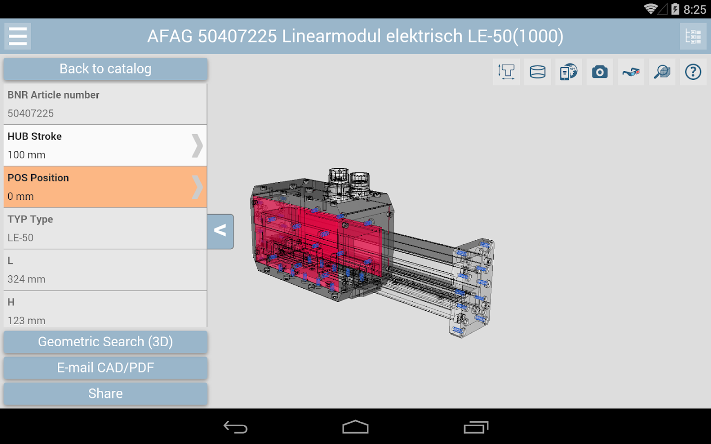 3D CAD Models Engineering - screenshot