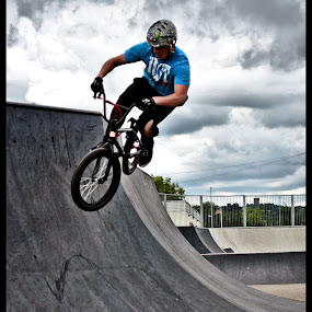 BMX rider by Brian Rogers - People Street & Candids
