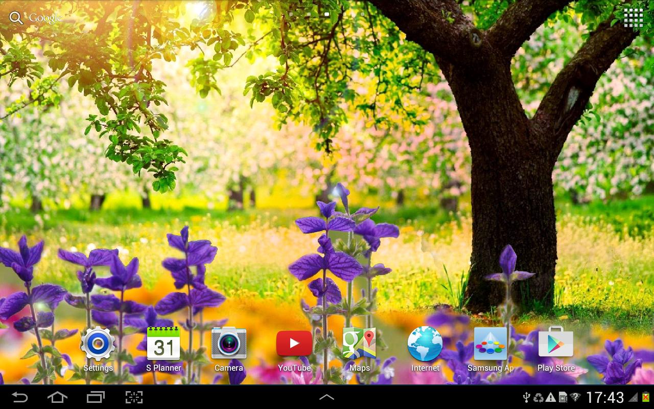 Spring Nature Live Wallpaper