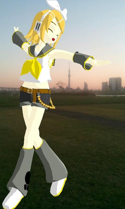 MikuMikuPhoto- screenshot