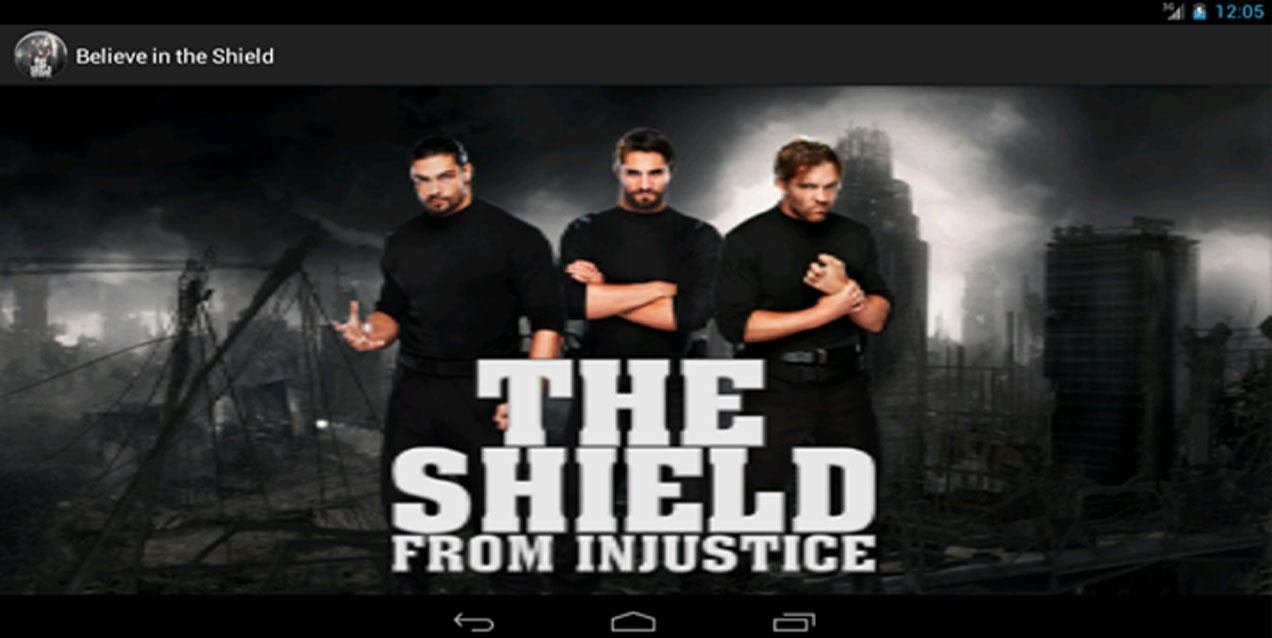 "WWE ""Believe"" in the Shield - screenshot"