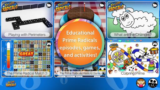 Prime Radicals Math Games