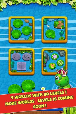 Froggy Jump 2 - Bouncy Time HD - screenshot