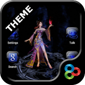 Magic Circle GO Launcher Theme