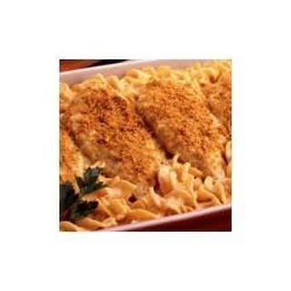 Cheesy Chicken with Pasta.