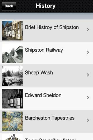 The Shipston App - screenshot
