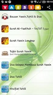 Yassin,Tahlil & Panduan Doa (AL-MA'THURAT) - náhled