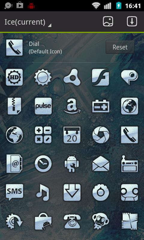 Winter Ice Go Launcher Theme - screenshot
